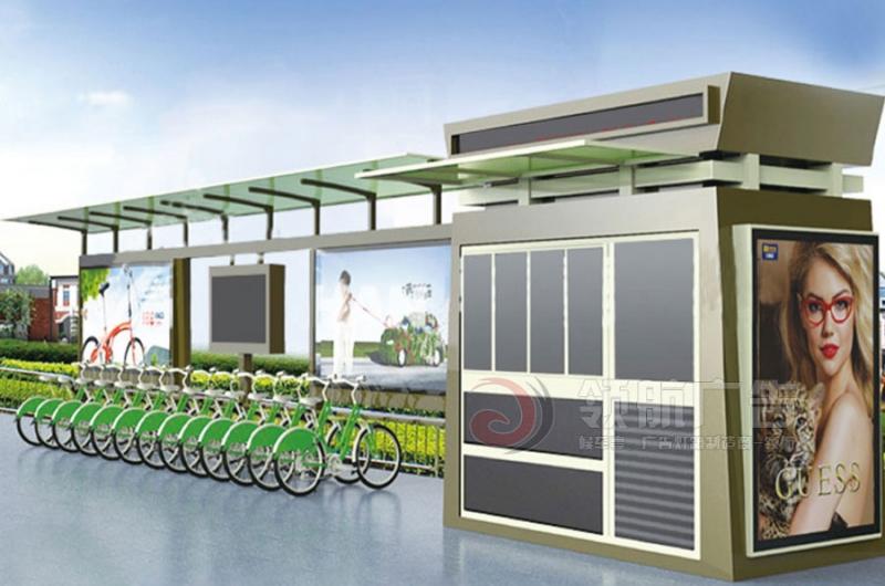 公共自行车棚DCT-1005