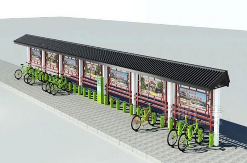 公共自行车棚DCT-1002